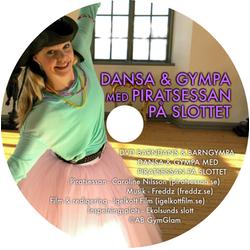 dvd dansa gympa piratsessan slottet