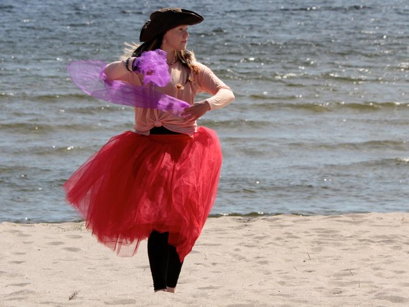 Dans scarf och Piratsessan