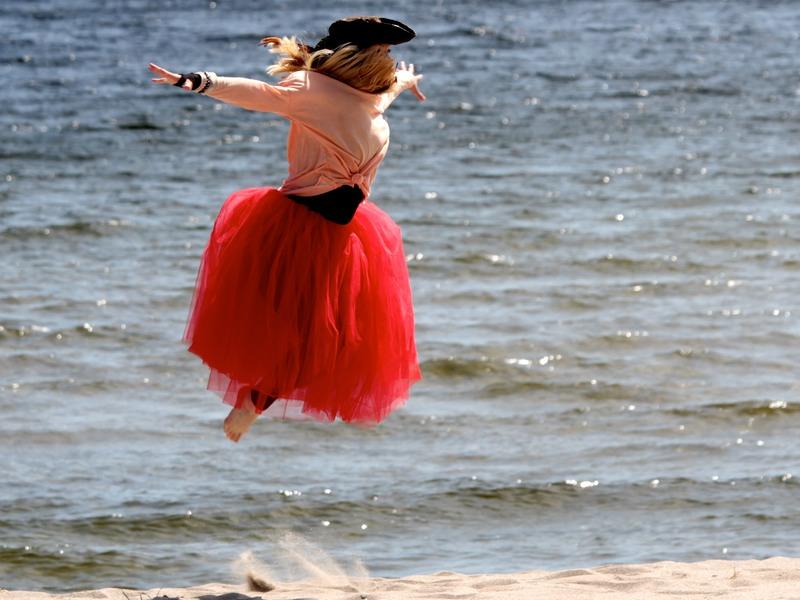 Piratsessan hoppar
