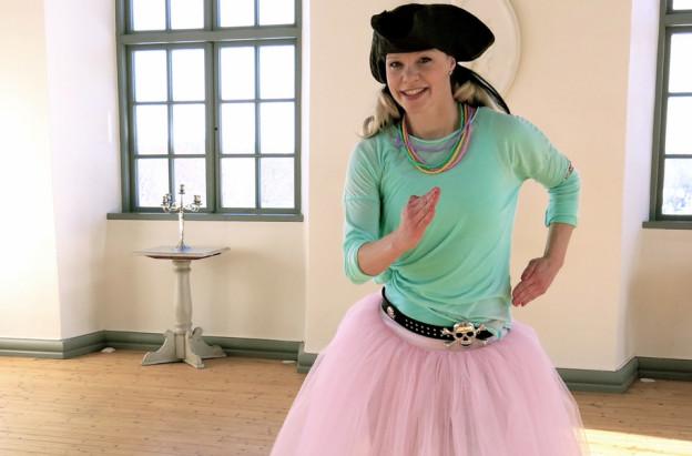 App för barn med barndans - Piratsessan på Slottet