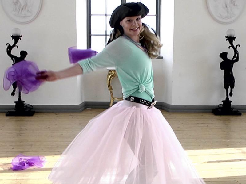 Barndans med Piratsessan på Slottet